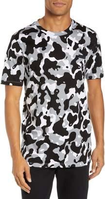 HUGO Durned Slim Fit Camo T-Shirt