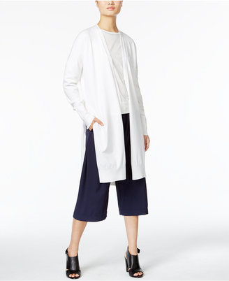 DKNY Open-Front Shawl Cardigan $248 thestylecure.com