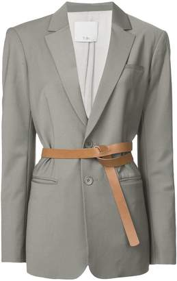Tibi Tablier Plainweave blazer
