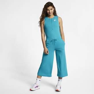 0f6347322ff5 Nike Women s French Terry Romper Sportswear Club