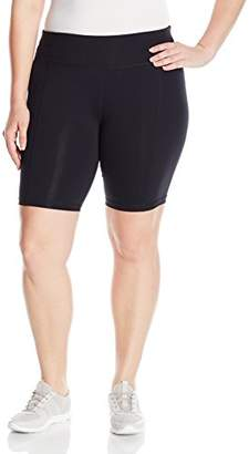 Basix II Rainbeau Curves Women's Plus Size Premier Nylon Bike Short