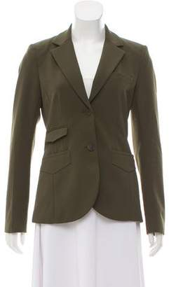 Theory Notched-Lapel Structured Blazer