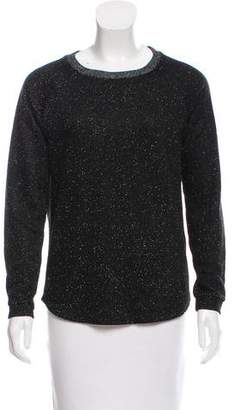 Maison Scotch Crew Neck Print Sweater