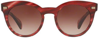 Oliver Peoples Dore Cherry Cocobolo + Spice Brown