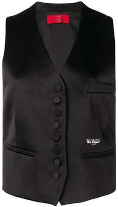 Styland satin waistcoat