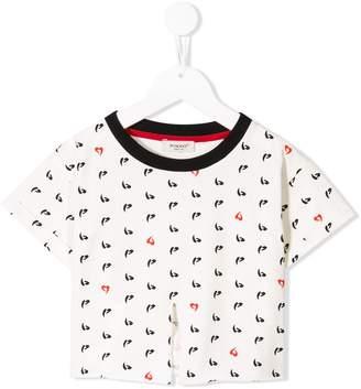 Pinko Kids logo printed T-shirt