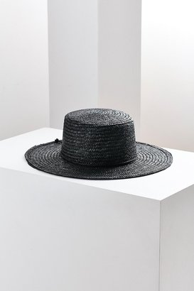 Urban Outfitters Vanessa Straw Boater Hat $39 thestylecure.com