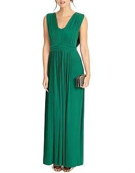 Phase Eight Aldora Pleat Maxi Dress