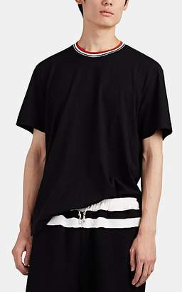 Marni Men's Logo-Appliquéd Cotton T-Shirt - Black