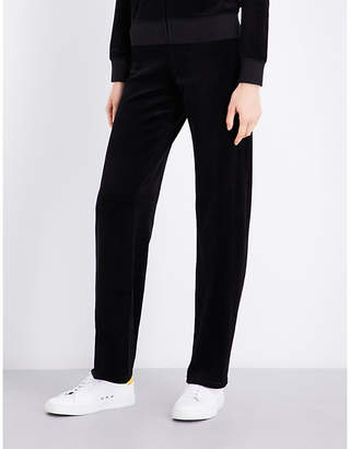Juicy Couture Maravista velour jogging bottoms $163 thestylecure.com