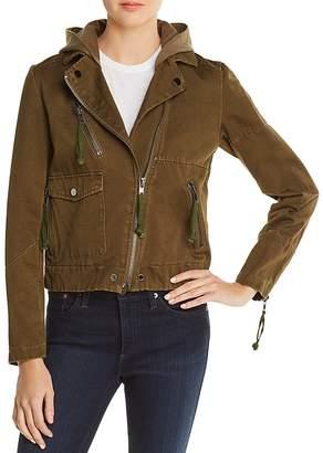 Doma Appliquéd Army Jacket