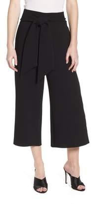 Chelsea28 Trouve Tie Front Wide Leg Pants