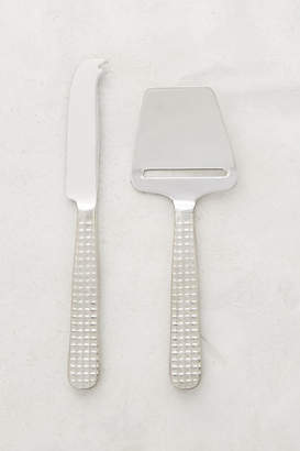 Michael Wainwright Manhattan Platinum Cheese Servers, Set of 2