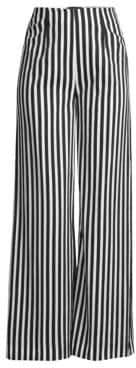 Piazza Sempione Striped Wide-Leg Trousers