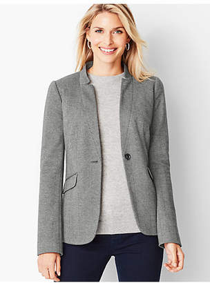 Talbots Perfect Ponte Blazer - Herringbone