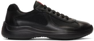 Prada Black PlumeandBike Sneakers