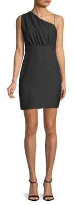 LIKELY Berkshire Asymmetrical Neck Dress