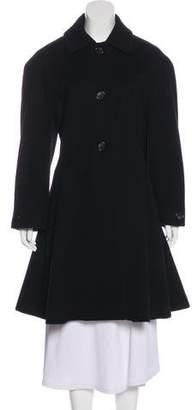 Christian Dior Knee-Length Riding Coat