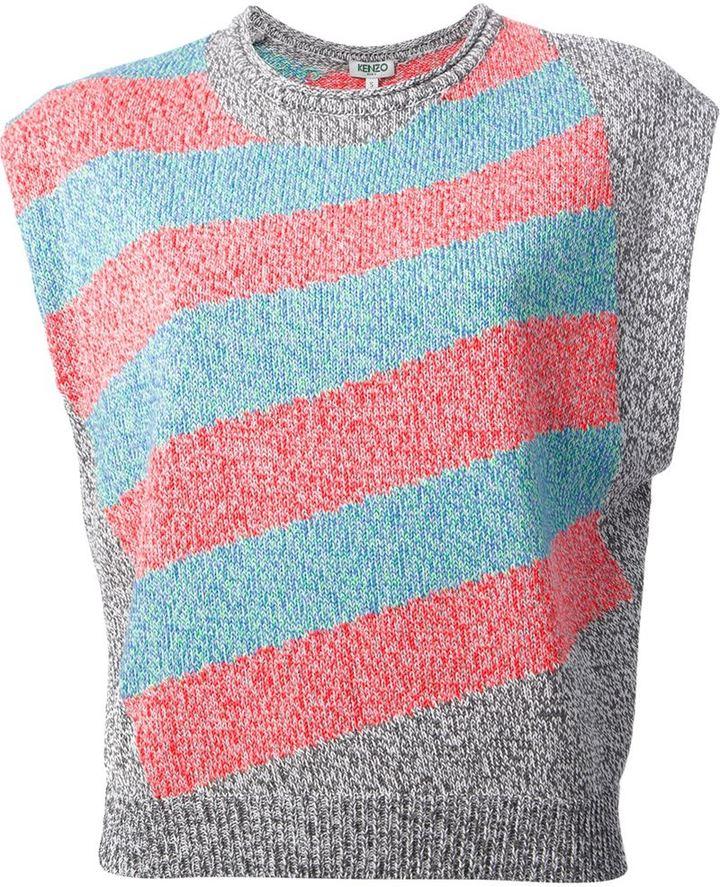 Kenzo sleeveless sweater