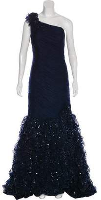 Jovani Ruffled Tulle Gown w/ Tags