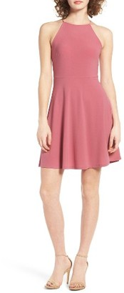 Women's Lush Ava Skater Dress $39 thestylecure.com