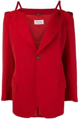 Maison Margiela staghetti straps jacket