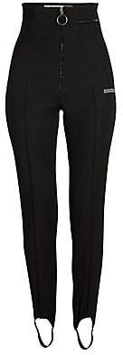 Off-White Women's High-Waist Fitted Stirrup Pants