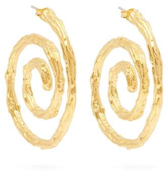 Lizzie Fortunato Spiral Gold Plated Earrings - Womens - Gold