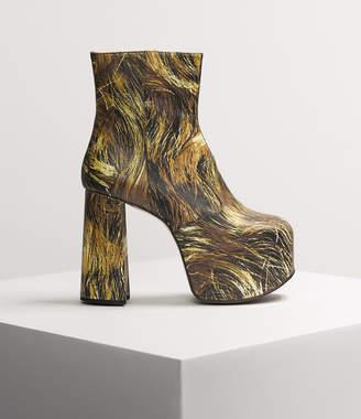Vivienne Westwood Naomi Boots Hair Print
