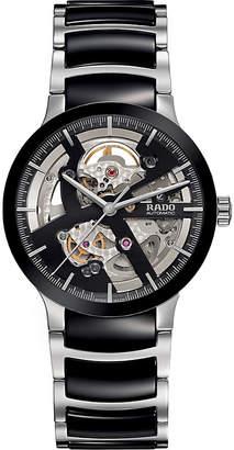 Rado R30178152 Centrix stainless steel and ceramic open heart watch