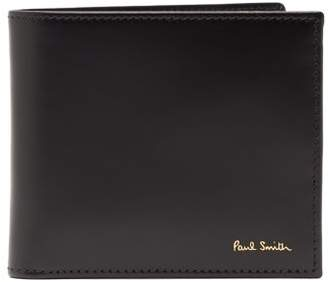 Paul Smith - Bi Fold Leather Wallet - Mens - Black