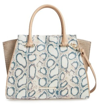 Brahmin Pearl - Priscilla Embossed Leather Satchel - Ivory $485 thestylecure.com
