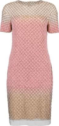 Pamella Roland Sequin Mini Dress