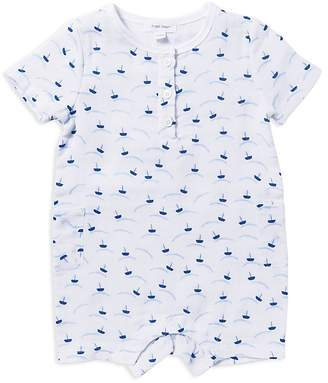 Angel Dear Boys' Boat-Print Henley Shortall - Baby