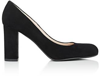 Barneys New York Women's Rounded-Toe Pumps $295 thestylecure.com