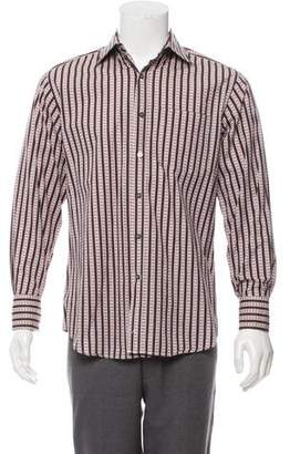 Paul Smith Printed French Cuff Shirt
