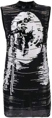 John Richmond sequin embellished dress