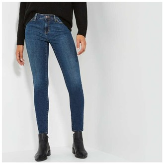 Joe Fresh Women's Classic Slim Jean, Dark Vintage (Size 30)