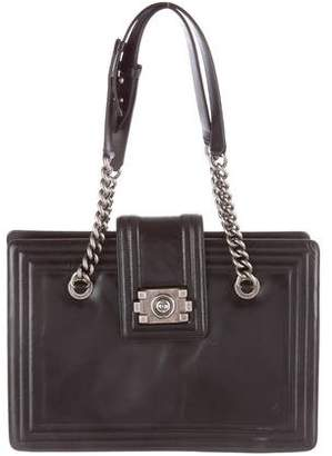 Chanel Leather Boy Tote