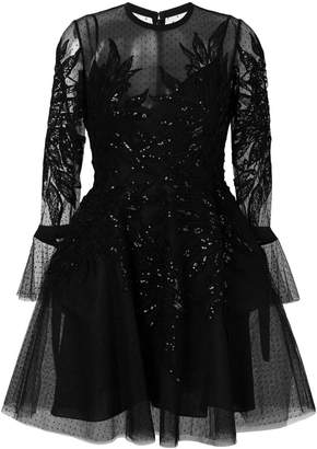 Elie Saab embellished tulle dress