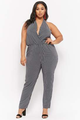 54aa9212ec8 Forever 21 White Plus Size Trousers - ShopStyle Canada