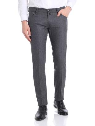 Jacob Cohen Trousers Wool 5-pocket J622 06968 N 930