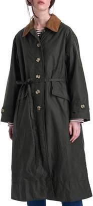 Barbour x ALEXACHUNG Maisie Waxed Cotton Coat