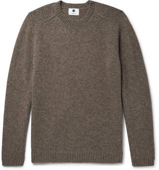 NN07 Nathan Mélange Shetland Wool Sweater