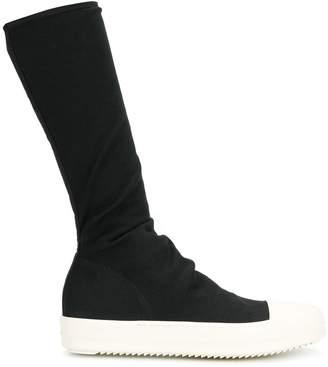 Rick Owens mid-calf sneaker boots