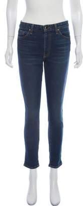 KHAITE Kassandra Mid-Rise Skinny Jeans w/ Tags