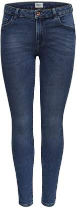 Only Classic Faded Cotton Stretch Jeans