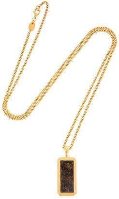 Bronzite Pendant Necklace