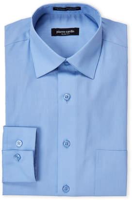 Pierre Cardin Ice Blue Slim Fit Dress Shirt