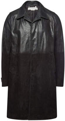 Golden Goose McQueen Leather and Suede Coat